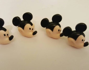 12 Mickey Mouse Ring Cupcake & Cake Toppers