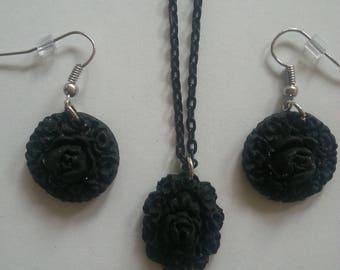 Flower Jewelry - Polymer clay