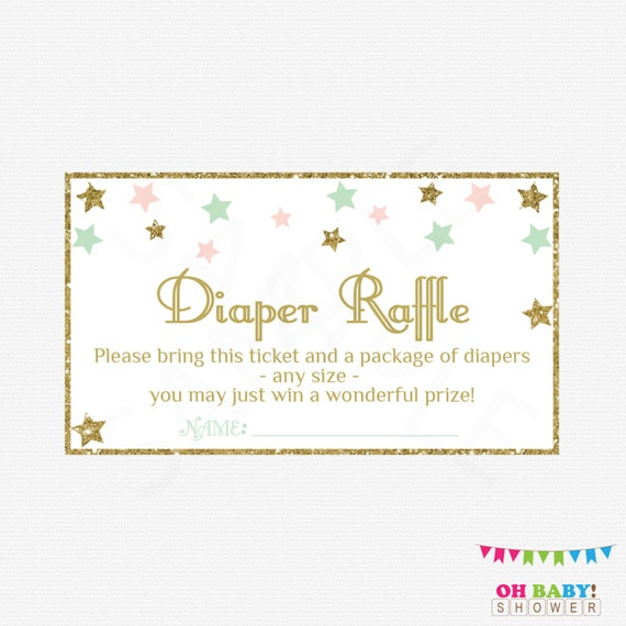 Soft image pertaining to diaper raffle free printable