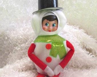 In Hoop Snowman Elf