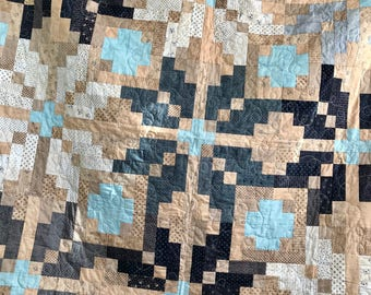 nordic snowflake quilt | handmade | READY TO SHIP!!!