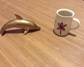 Brass Dolphin