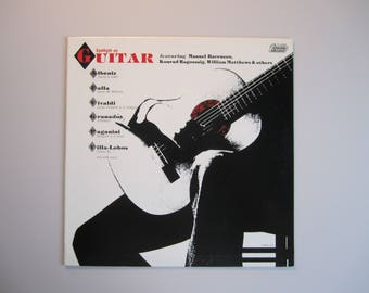 Spotlight On Guitar - Various Artists - Vintage Vinyl Record Album - 1984
