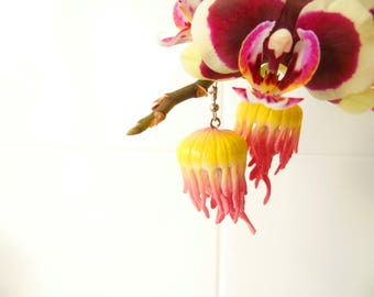 Upcycled Jellyfish Earrings