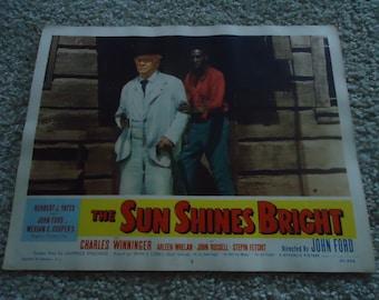 Original 1953 The Sun Shines Bright Lobby Card Movie Poster John Ford Merian C Cooper