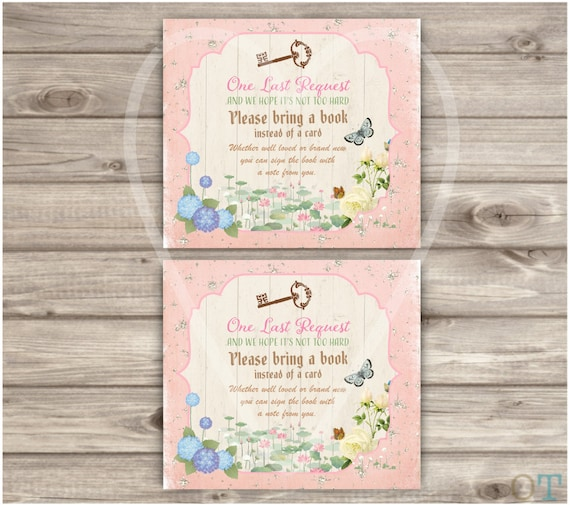 Baby shower fairy woodland invitations shabby chic theme party like this item filmwisefo