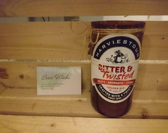 Bitter & Twisted beer candle