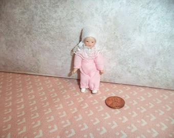 1:12 scale Dollhouse miniature porcelain baby girl