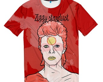 David Bowie Art T-shirt, Men's Women's All Sizes