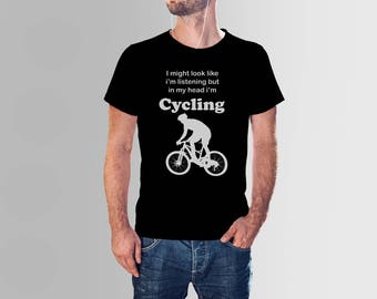 Cyclist Gift For Him - Cycling Shirt - Bicycle Shirt - Cicycle Gift - Biking T Shirt - Gift For Cyclist - Mens Bike Tshirt - Bicycle Tee