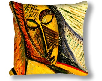 Picasso Painting (Sleeping Woman) Cushion Cover