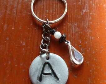Intial A Keychain