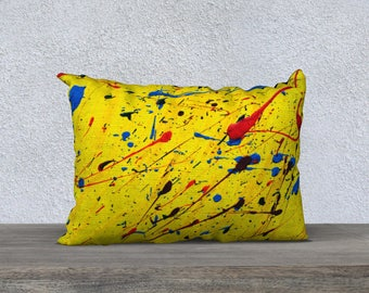 """Dance of comets 14 """"x 20"""" pillow cover"""