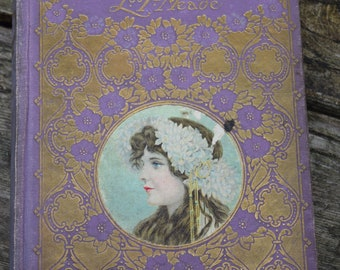 Vintage Book Pretty Binding from 1900s World of Girls L.T. Meade