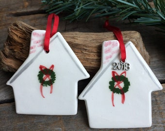 First Home Ornament, New Home Ornament, Our First Christmas, Our First House, New House Ornament, New Home 2018, Ornament, House Ornament