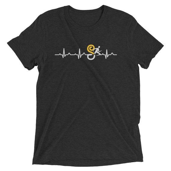 Men's Rhythmic Runner Triblend T-Shirt - Runners Life - Men's Short Sleeve Running Shirt