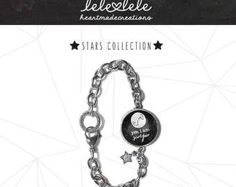 Bracelet with zodiac signs and constellations