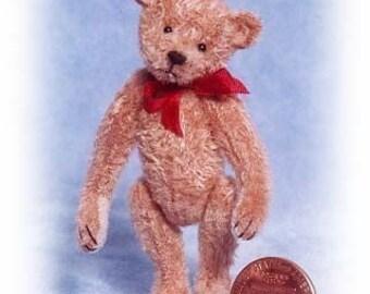 Alten Pal-Miniatur Teddy Bär Kit - Muster - von Emily Landwirt