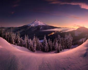 TDH Mount Hood, Oregon (Portland) metal print / canvas / photo print