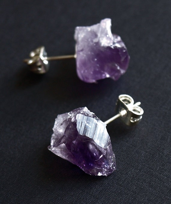 com earrings genuine dp sterling purple free dangle amazon nickel stone silver celtic amethyst