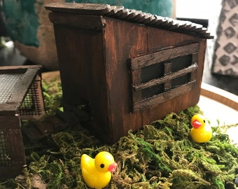 Miniature Chicken Coop