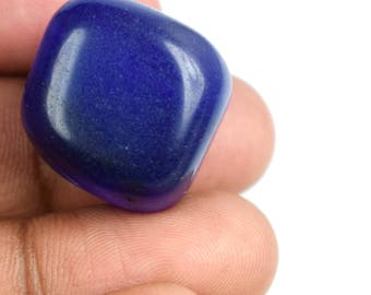 68.40 Ct Natural Fancy Shape African Blue Sapphire Loose High Quality Gemstone