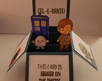 Time Traveller Box Card