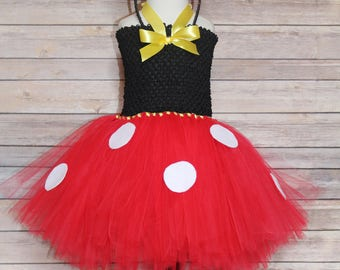 Minnie Mouse Costume, Minnie Mouse Birthday, Minnie Mouse, Minnie Mouse Halloween, Classic Minnie Mouse Dress