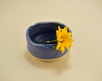 "Japanese inspired, handmade, porcelain ""chawan"" , ""tea bowl"" , rice bowl or special sauce bowl"