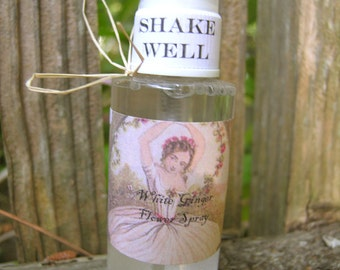 White Ginger Flower Body Spray - hydrating