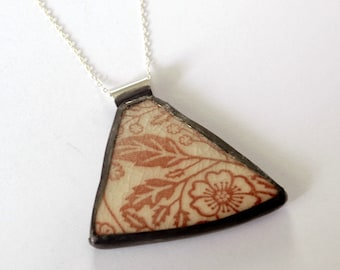 Broken Just Mare Plate Pendant Partial Proceeds to Charity
