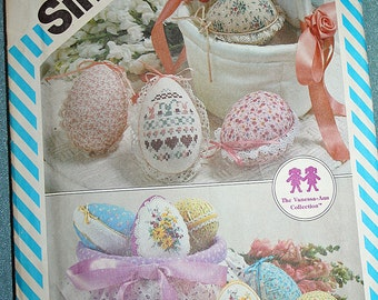 Vintage Easter Eggs and Baskets Simplicity 6315