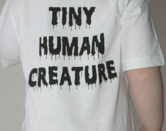 Tiny Human Creature kids organic cotton tshirt