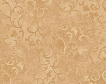Gold Quilt Fabric by the yard quilts cotton sewing 89025 221 Christmas Fabrics rustic decor