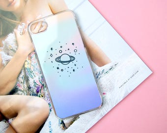 Space Planets Stars Custom Made iPhone 5/5S/SE 6/6S 7 8 Plus + X Samsung S6 S7 S7 Edge S8 Phone Case/Cover UK!