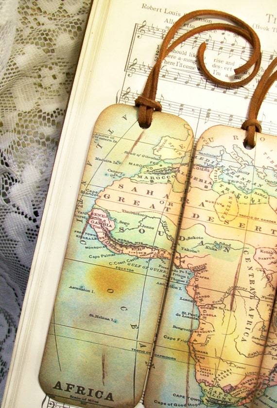 Africa map bookmarks set of 3 historical africa old map africa map bookmarks set of 3 historical africa old map bookmark gifts for men map lovers gifts for him map collectors travelers map lovers gumiabroncs Gallery