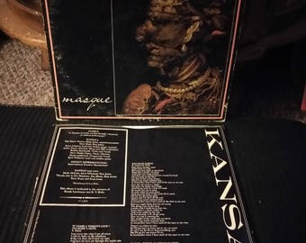 Kansas masque (vinyl)nice record buy today ship today