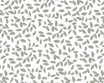 Lotta Jansdotter fabric - Lemmikki - Windham Fabrics - American cotton - gray foliage - by 50cm (110 x)