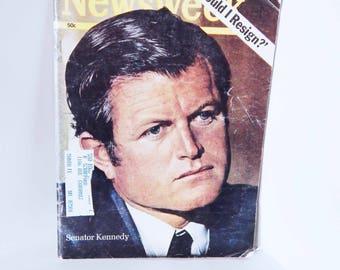 1969 Newsweek Magazine