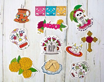 Day of the Dead Sticker Pack #2