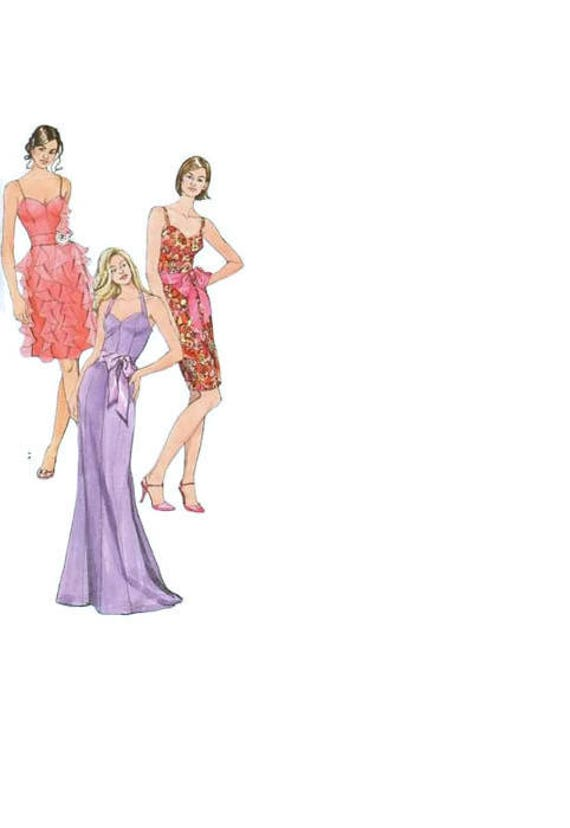 Einfachheit 2639 Nähen Muster formale Kleid Party Kleid