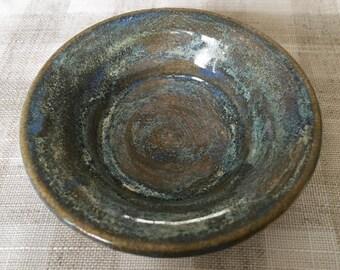 Pottery Salt Bowl / Handmade Rustic Pottery Bowl / Pottery Bowl / Rustic Sauce Bowl