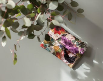 Handbag Clutch Premium Flowers