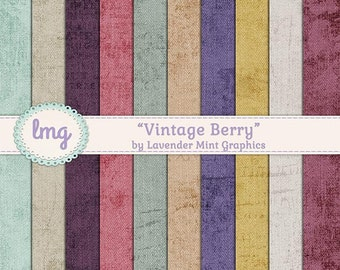 Vintage Digital Scrapbook Background Papers, Distressed Paper, Shabby Chic, Rustic Digital Paper, Shabby Textures, Grungy, Commercial Use