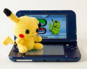 Pikachu amiibo, custom amiibo, amiibo custom, Pokemon amiibo, Pokemon plush, Nintendo amiibo, Super Smash Bros, amiibo plush, Pokémon plush
