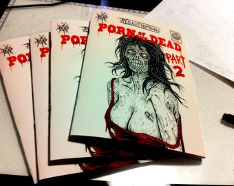 Porn of the dead PART 2/ erotic zombie horror zine