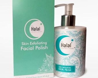Halal Skin Exfoliating Facial Polish