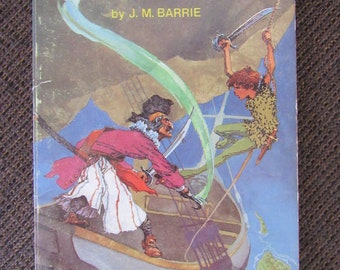 Peter Pan by J. M. Barrie 1957 Scholastic Paperback Free Shipping