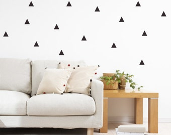 Triangle Wall Decals - Triangle Fabric Wall Decals