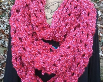 Crochet Super Infinity Scarf- Rembrandt